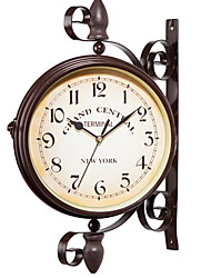 European Style Vintage Iron Wall Clock