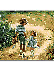 Hand Painted Oil Painting Home Decor For Children's Living Room Decor Wall Art with Stretched Frame Ready to Hang