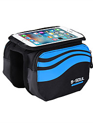 B-SOUL®Bike Frame Bag Phone Holder / Phone/Iphone / Touch Screen / Shockproof Cycling/Bike Nylon