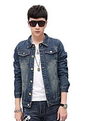 Autumn/man/long/denim/jacket/coat/new/fashion  SLS-NZ-DZ31805