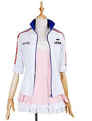 Inspirado por Outros Outros anime Cosplay Costumes Ternos de Cosplay Estampado Casaco / Vestido