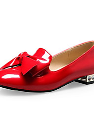 Women's Shoes Leatherette Spring / Summer / Fall / Winter Comfort Flats Party & Evening / Dress / Casual Low Heel