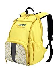 Women Nylon Outdoor Backpack Blue / Yellow / Fuchsia
