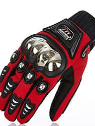 guantes de carreras de motos ciclo al aire libre del guante de acero inoxidable guantes cáscara protectora de hockey
