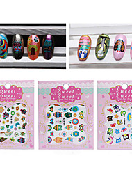Nail Art Nail Sticker 3D Nails Nagelaufkleber
