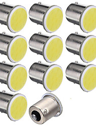 10pcs 1156 12SMD COB White Color Bulbs RV Trailer Truck Car Styling Light parking Auto Led Car Lamp 12V