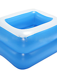 Inflatable Square Baby Tubs Inflatable Swimming Pool For Kids PVC Environmental Protection Swimming Pools 120*90*36cm