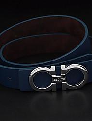 Men Waist Belt,Work / Casual Alloy / Leather All Seasons