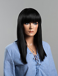 Long Remy Human Hair Straight Fashion Human Hair Wigs