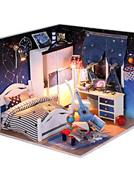 1PC Diy House Warm And Sweet  Princess Creative Gifts A  Present Educational Toys Lights Led Lamp