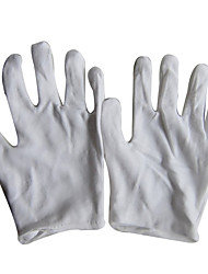 dicke weiße Baumwolle weiße Handschuhe Fahrer Etikette Schmuck Schutz Arbeitshandschuhe