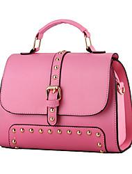 Women Cowhide Formal / Casual / Event/Party / Wedding / Office & Career Shoulder Bag Multi-color