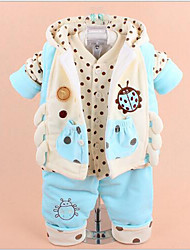 Girl Cotton / Polyester Sleepwear,Winter / Spring Long Sleeve