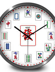 Creative Mahjong Home Furnishing Decoration  Quartz Clock