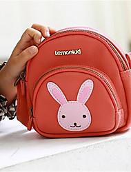 Women PU Formal Shoulder Bag Pink / Red