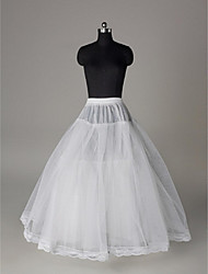 Slips Ball Gown Slip Floor-length 3 Tulle Netting