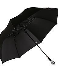2016 el nuevo paraguas protector solar plegable estilo con mango de metal
