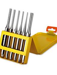 Tajima® QPS-6 Maintenance Level 6 Chisel Set Chrome Vanadium Steel High Strength Anti-Embroidered Hardware Hand Tools