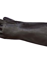 более толстый черный резиновый перчатки кислоты для промышленного