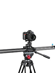 yelangu® novo pro 80 centímetros de fibra de carbono de vídeo portátil deslizante pista de câmera dolly para DSLR