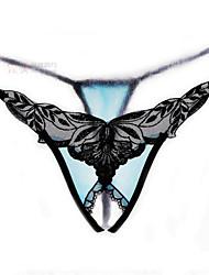 Femme Sexy / Lace Jacquard Sous-vêtements Ultra Sexy Slips-Nylon / Rayonne