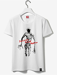 Inspired by Ajin NagaiKei Anime Cosplay Costumes Cosplay Tops/Bottoms Print White Short Sleeve T-shirt