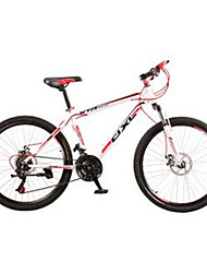 Bicicleta De Montanha Masculino / Mulheres / Unissex Comum Freio a Disco Duplo Quadro de Aço / Comum Anti-Escorregar / Comum 21 velocidade