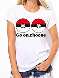 Cartoon Game Men And Women Wear T Shirt