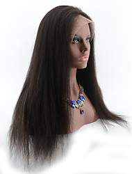 130% Density Silky Straight Glueless Full Lace Wig Lace Front Wig 100% Brazilian Human Hair Wigs