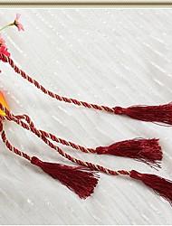 ein Stück Vorhang Quaste Zugband Seil Vorhang Riemen