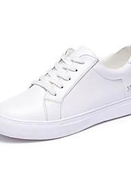 женская обувь простой основной патент кожа комфорт / круглые кроссовки ног моды на открытом воздухе / вскользь платформа шнуровке