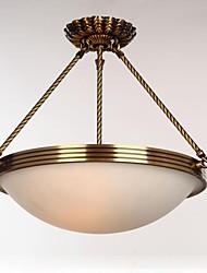 Modern Classic Copper Ceiling Light/ Dinning Room/Living Room/Bedroom Chandelier