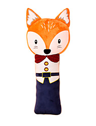 Children's Safety Belt Holder Baby Sleeping Seat Belt Shoulder Sleeve Lovely Cartoon Antile neck Belt Fox