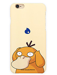 Pocket Little Monster Psyduck 5.5 inch Iphone 6p/6splus Hard Matting Cellphone Cover