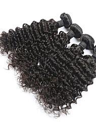Brazilian Virgin Human Hair Extension Deep Wave 4pcs/lot no tangle and no shedding Best Selling Hair