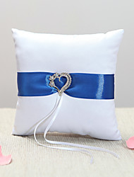 Royal Blue Sash Ring Pillow