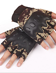 Half-Finger Gloves Men Riding Motorcycle Gloves Wear Comfortable Breathable Fight