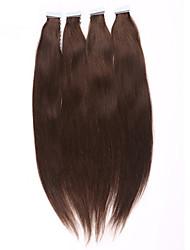 fita na trama do cabelo extensões 100s pele pu extensões de cabelo remy virgem adesivo cabelo brasileiro cola barata pele trama