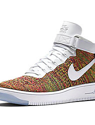 Nike Air Force 1 Ultra Flyknit High Men's Shoe Skate Athletic Sneakers Shoes Black Blue Red White Yellow