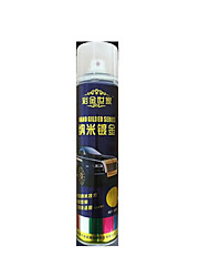 Nano Gold-Plated Silver Spray Paint Film Shredded Spray Paint Can Not Afford Chrome Wheels
