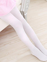 Girls Socks & Stockings,Summer Spandex White
