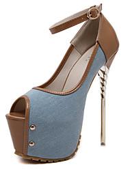 Women's Shoes Spring / Summer / Fall / Winter Heels / Peep Toe / Platform /Basic Pump Loafers & Slip-OnsWedding
