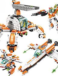 Brinquedos Para meninos / blocos / Plástico Laranja