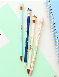 Primary And Middle School Students Stationery Teddy Bear 0.5 mm Automatic Pencil
