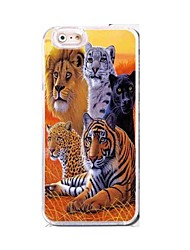 EFORCASE® Many Animals HD 3D stereoscopic TPU and PC Phone Case for  iphoneSE/5S/5/6/6S/6plus/6S plus