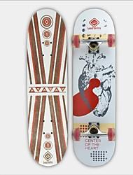 """Skateboard 31 """"(78,7 * 20cm) 11mm chinesische 9-lagig Ahorn Deck ABEC-3 Hochgeschwindigkeitslager Räder 58x32mm"""