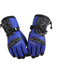 Warm Winter Fashion Wind Cold Outdoor Mountaineering Ski Gloves Thick Motorcycle Gloves