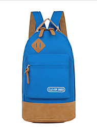 Women Oxford Cloth Casual Backpack Pink / Blue / Green / Red