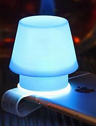 silício telefone handset nightlight suporte da lâmpada