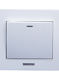220v Schalter in der Wohnung oder Hotel genutzt